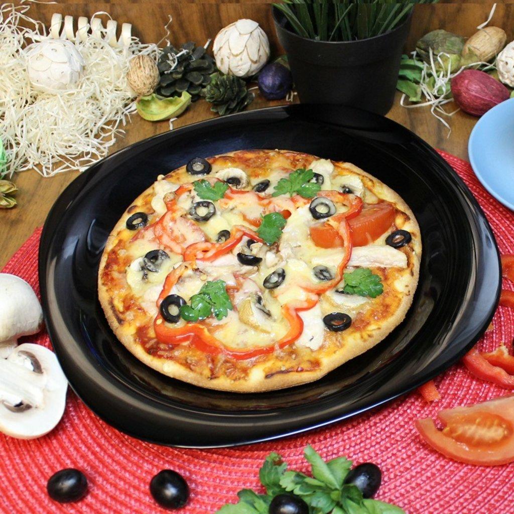 Пицца: ПИЦЦА с курицей и грибами в Свит суши