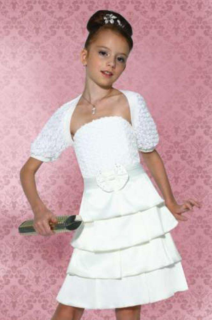Платья и сарафаны для девочек: Болеро Dools-Girls 477 в Чиполлино,  магазин детской одежды