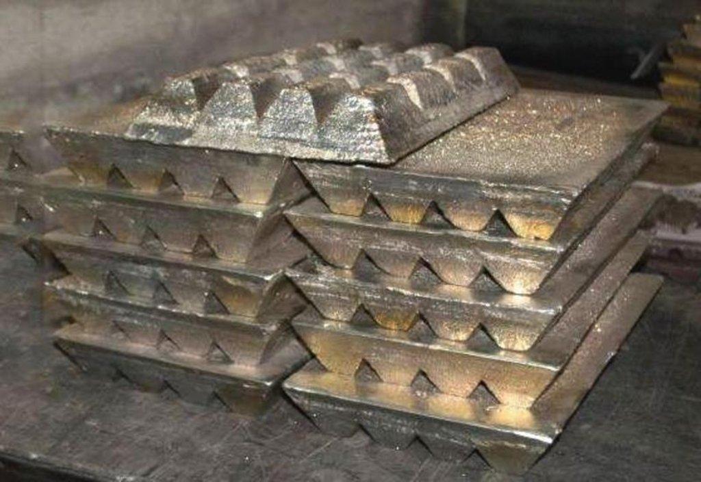 Металлопрокат, общее: баббит (сплав олова и свинца) в чушках в ОренЦветМет