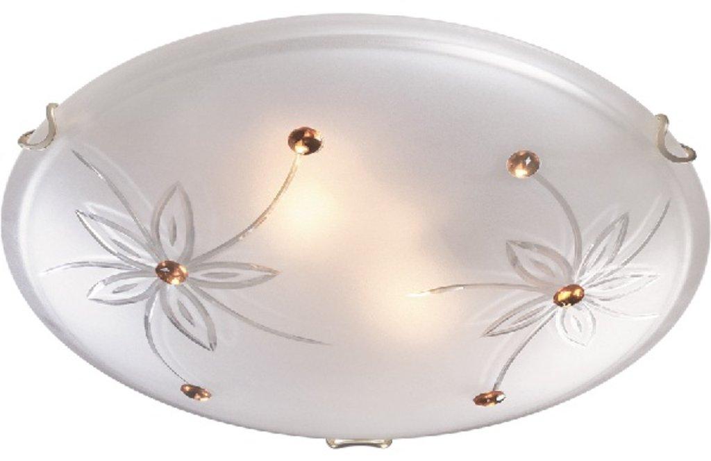 Светильники настенно-потолочные, бра: 149 FB09 059 белый/золото Светильник Е27 в Электрика