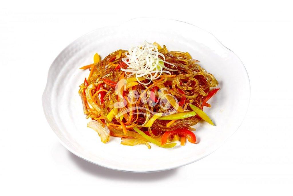 Горячие блюда: Лапша Харусаме с овощами в Sous (Соус)
