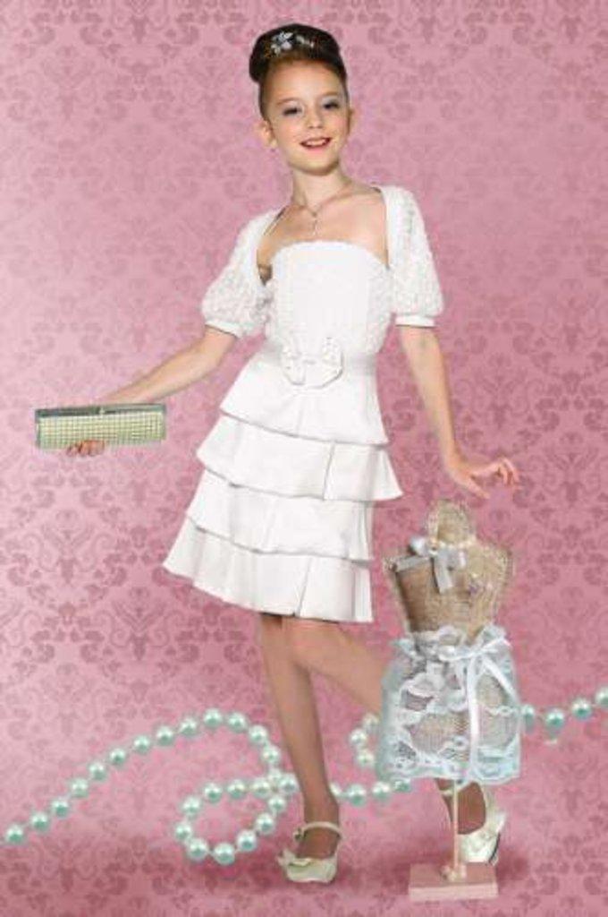 Платья и сарафаны для девочек: Платье Dools-Girls 408 в Чиполлино,  магазин детской одежды