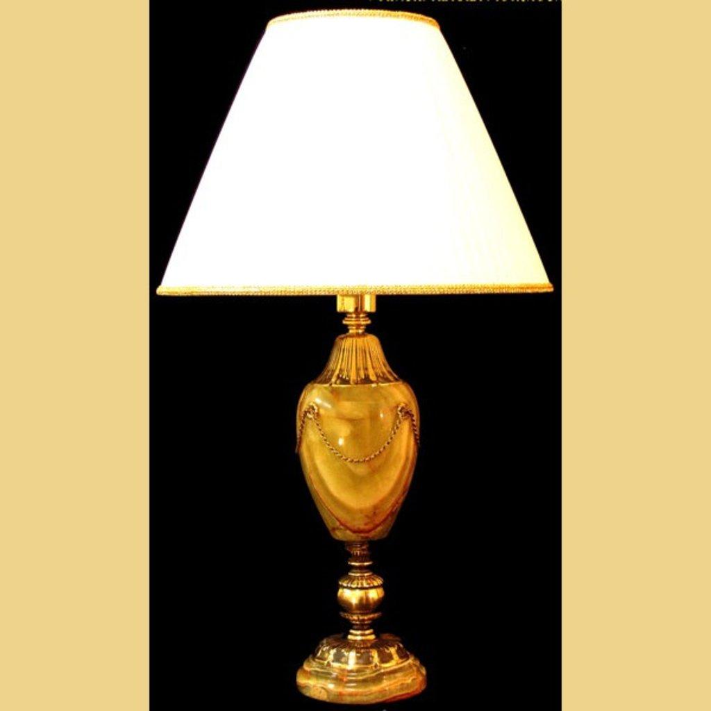Настольные лампы и ночники: Лампа настольная. Оникс в REPLICA