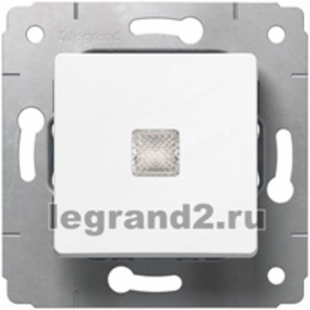 Электроустановочные изделия: L773613 Cariva Кнопка с подсв.,белый/слоновая кость в Электрика