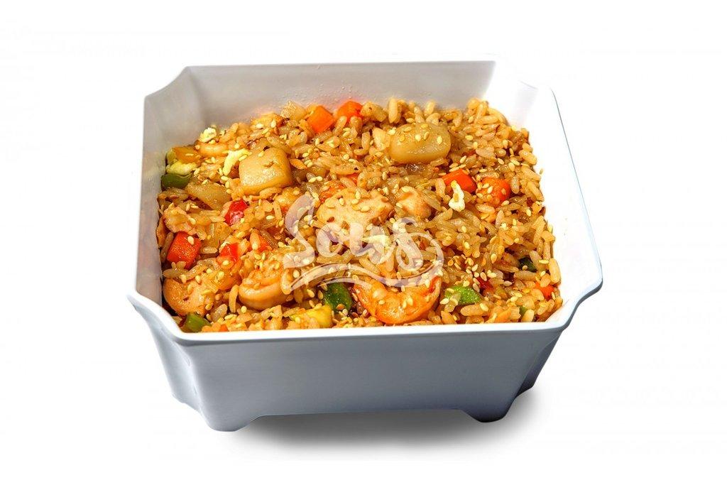 Горячие блюда: Рис с морепродуктами в Sous (Соус)