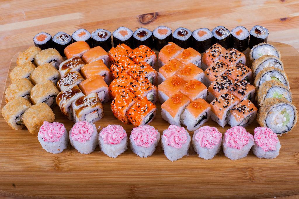 Сеты: Большой куш в Sushin