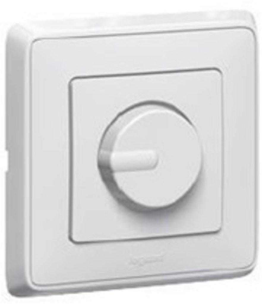 Электроустановочные изделия: L773615 Cariva Светорегулятор 500Вт , белый в Электрика