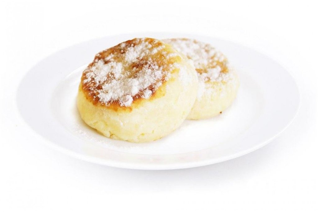 Десерты: Сырник в Sous (Соус)