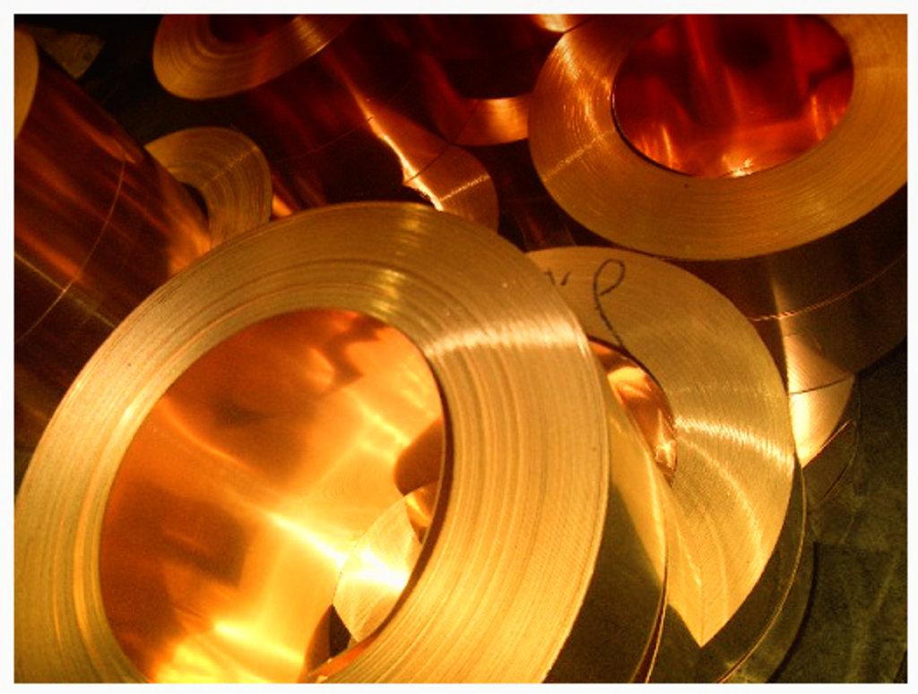 Металлопрокат, общее: лента медная в ассортименте в ОренЦветМет