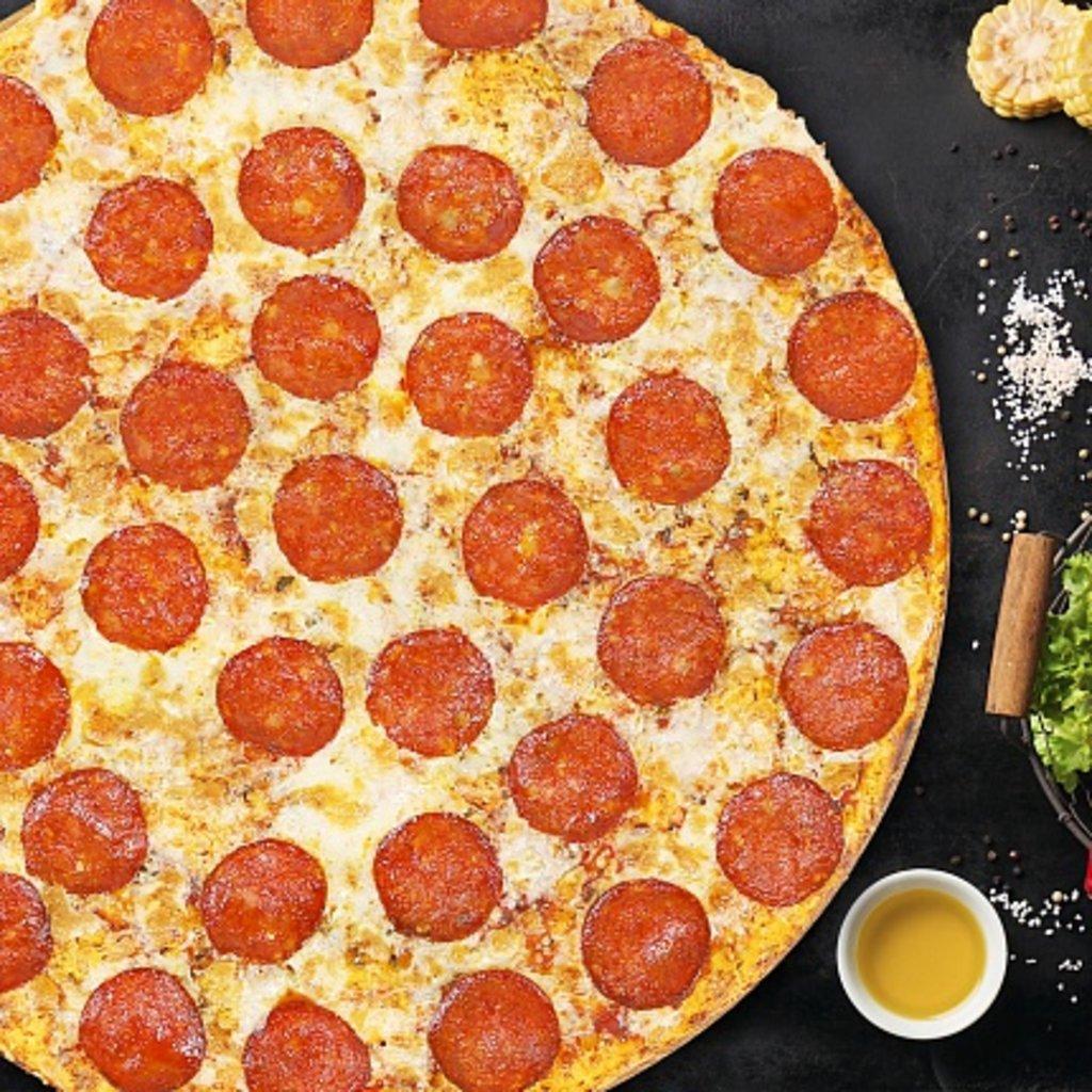 Пицца: Пепперони в КусОk