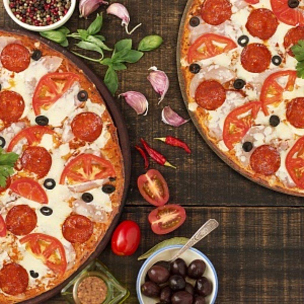 Пицца: Пикантная в КусОk