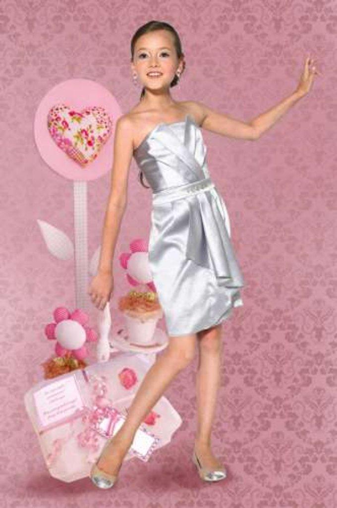 Платья и сарафаны для девочек: Платье Dools-Girls 405 в Чиполлино,  магазин детской одежды