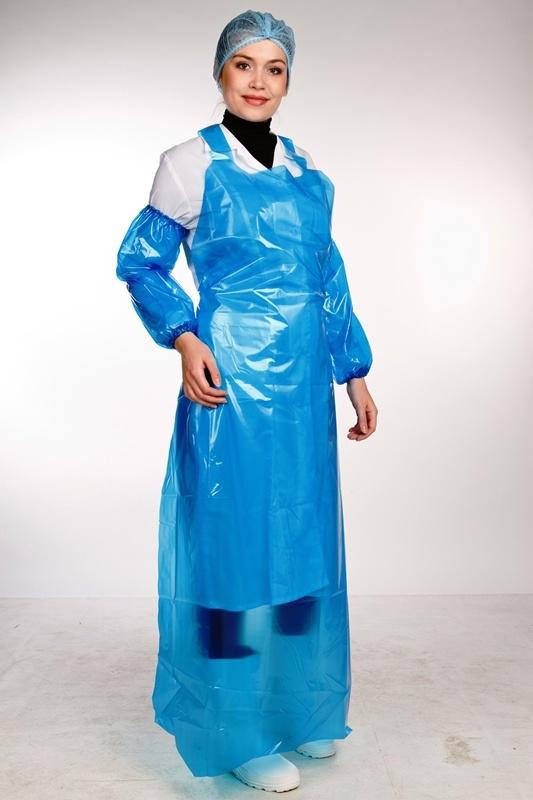 Фартуки, передники: Специальная одежда для работников пищевых производств и клининга в Азбука чистоты