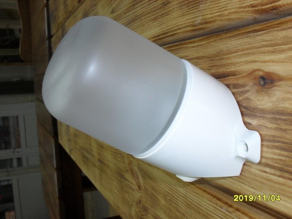 Светильники для бани и сауны: Светильник для бани повышенной влажности (поликарбонат) в Погонаж