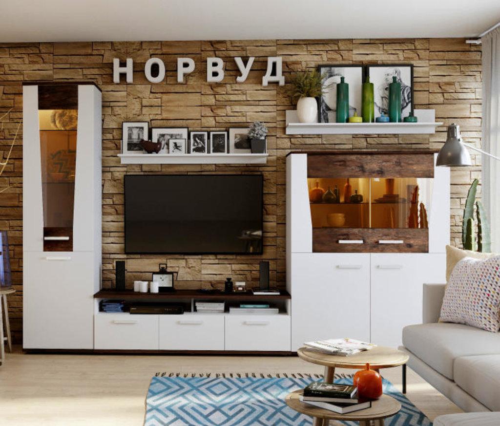 Модульная мебель в гостиную Норвуд: Модульная мебель в гостиную Норвуд в Стильная мебель