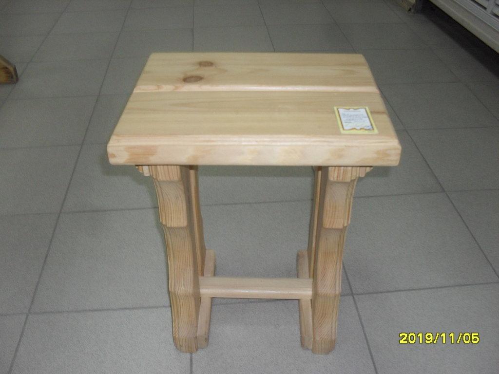 Мебель для саун и бань: Табурет (массив ХВОЯ) в Погонаж
