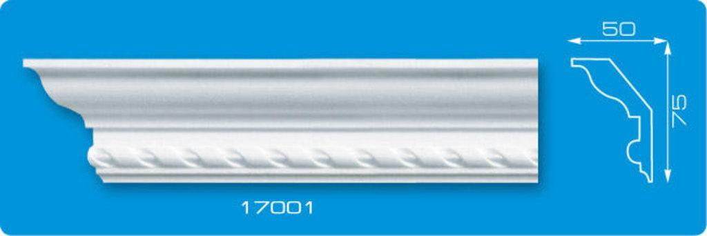 Плинтуса потолочные: Плинтус потолочный ФОРМАТ 17001 инжекционный длина 1,3м, средний в Мир Потолков