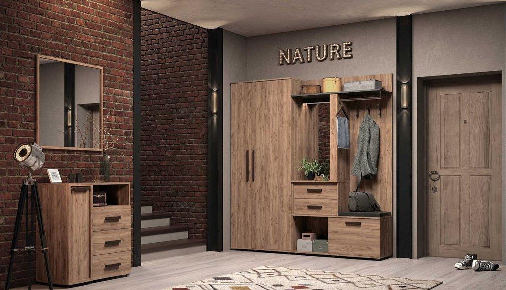 Шкафы, общие: Шкаф для одежды и белья Nature 71 в Стильная мебель