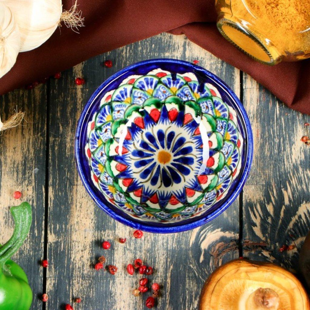 Мангалы. Казаны. Узбекская и турецкая посуда: Пиала Риштанская керамика в Сельский магазин
