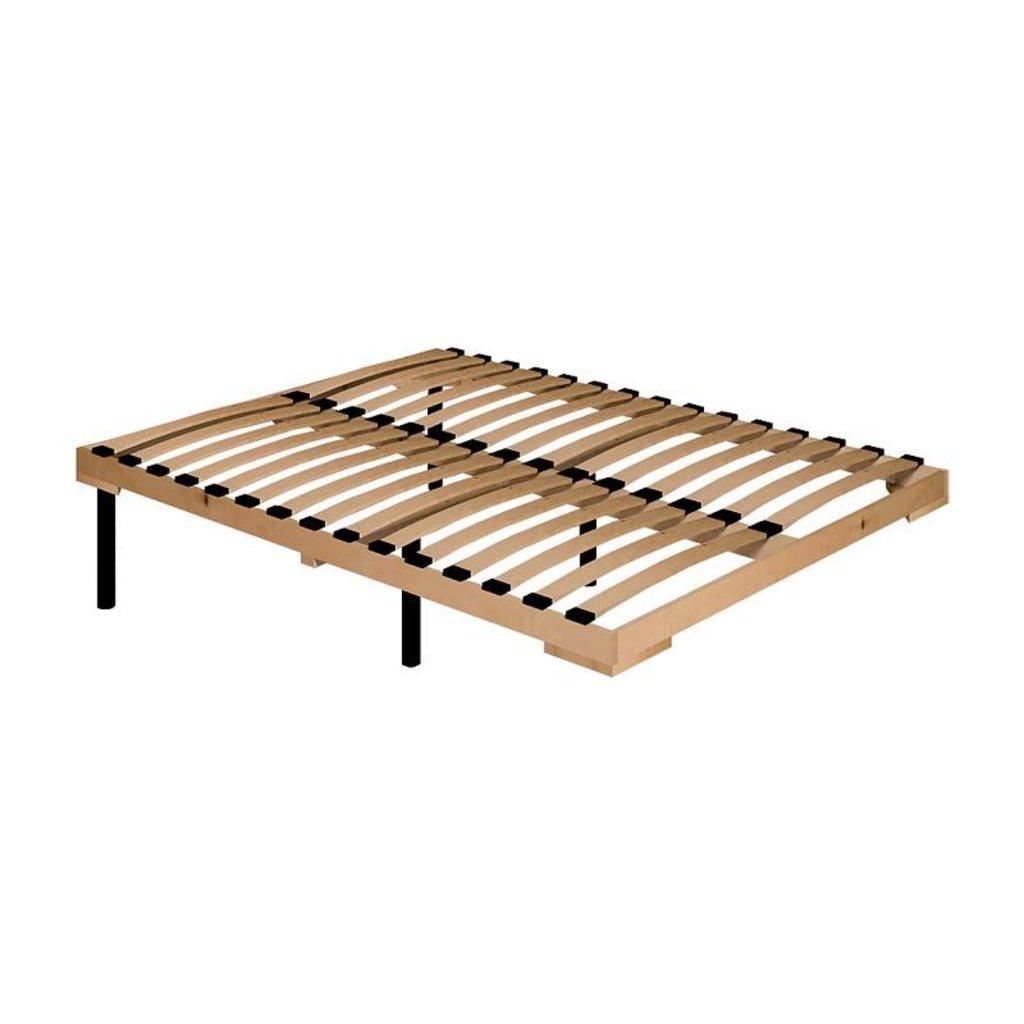 Кровати: Кровать Люкс Марсель 38 (1400, орт. осн. дерево) в Стильная мебель