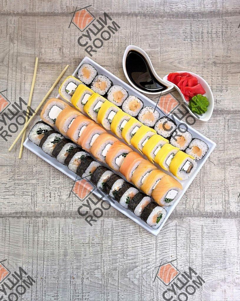Наборы: Копченый лосось в Суши Room
