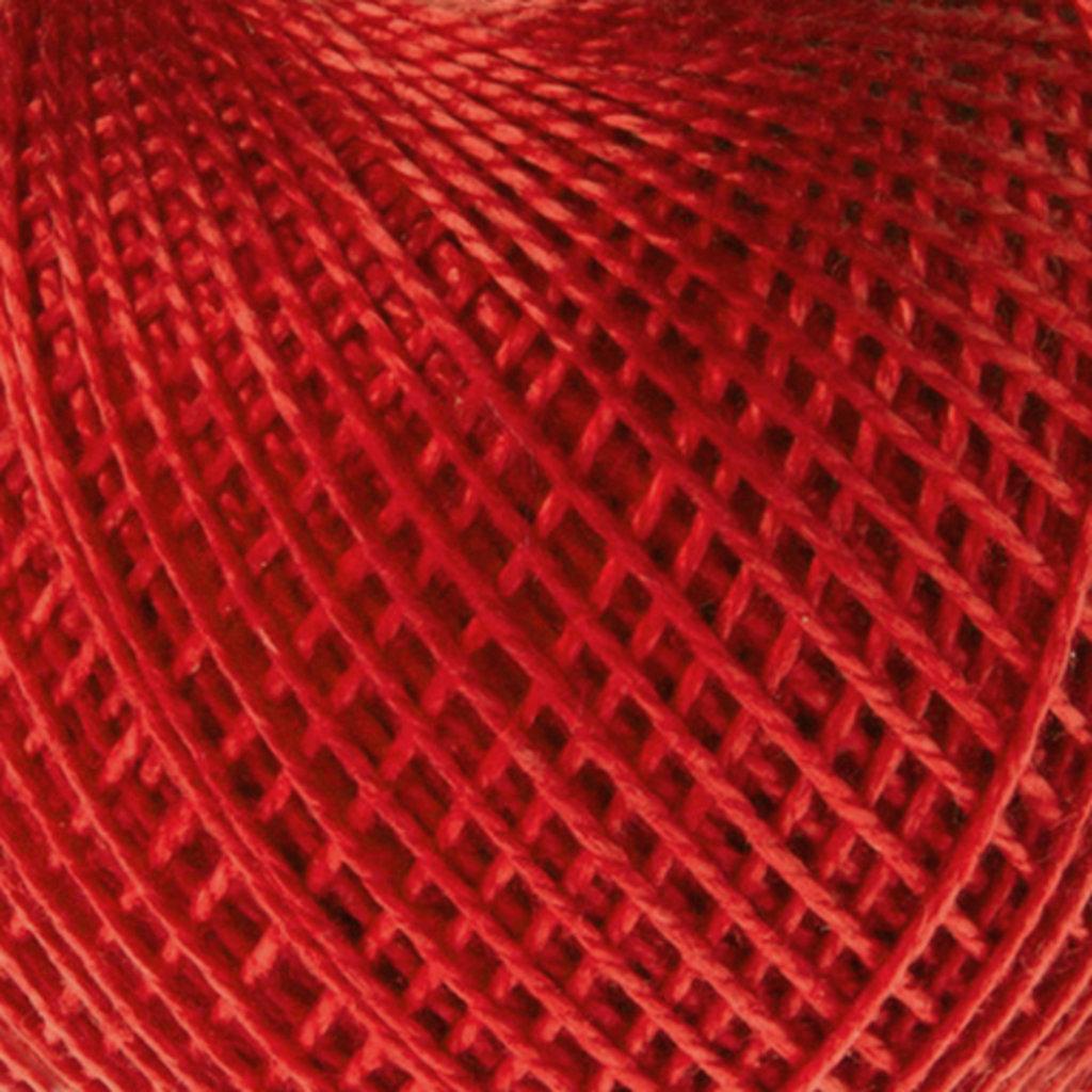 Ирис 25гр.: Нитки Ирис 25гр.150м.(100% хлопок)цвет 0810 алый в Редиант-НК