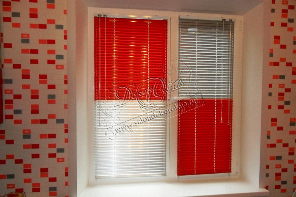Жалюзи для окон: Жалюзи горизонтальные комбинированные в Декор окна, салон