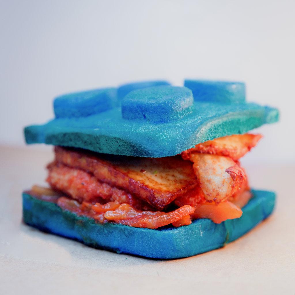 Легго-бургеры: Синяя борода в Leggo burger