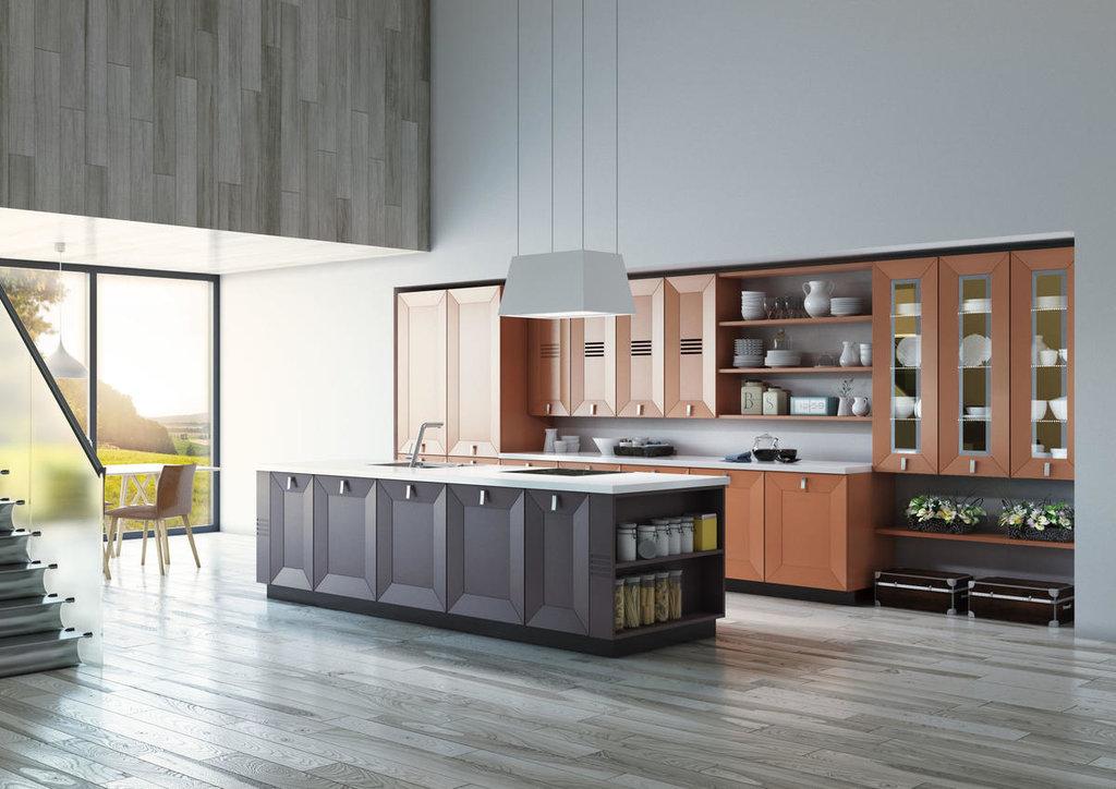 Кухни: Кухня АРТ в Модный интерьер