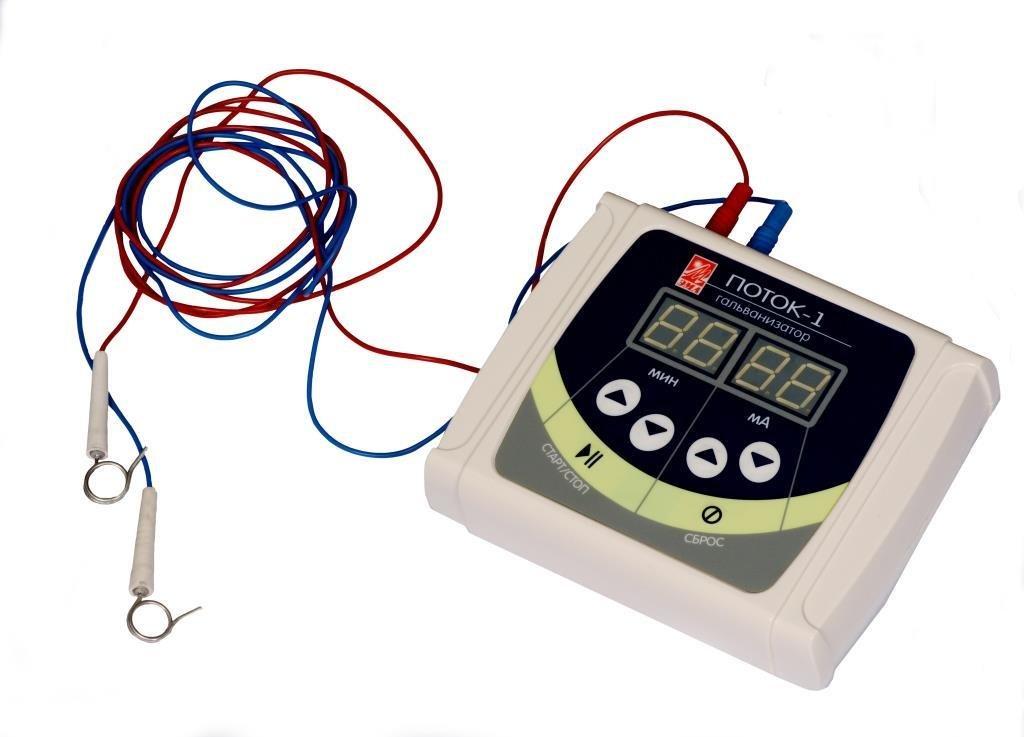 Аппараты низкочистотной терапии: Аппарат ЭМА Поток-1 (гальванизатор) в Техномед, ООО
