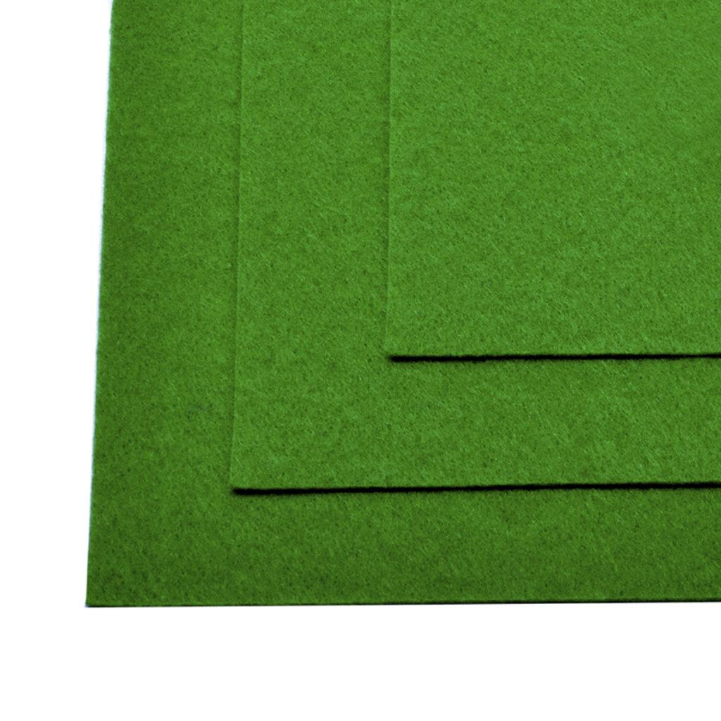 Фетр: IDEAL Фетр жёсткий 1мм 20*30см ярко-зелёный 1лист в Шедевр, художественный салон