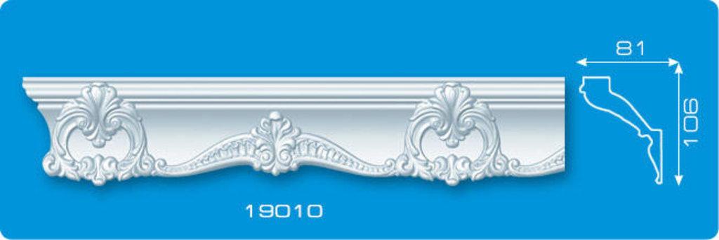 Плинтуса потолочные: Плинтус потолочный ФОРМАТ 19010 инжекционный длина 1,3м, широкий в Мир Потолков