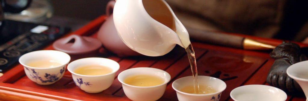 Чай: Бай Му Дань в Шанхай