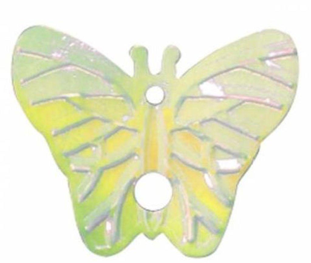 Бабочки: Пайетки бабочки,18*23мм.,упак/10гр.Астра(цвет 91 желто-лимонный) в Редиант-НК