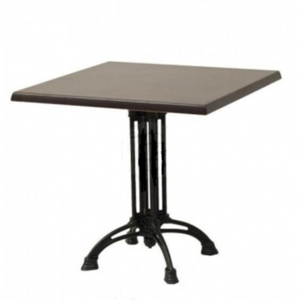 Столы для ресторана, бара, кафе, столовых.: Стол квадрат 900х900, подстолья 1236 ЕМ чугун в АРТ-МЕБЕЛЬ НН