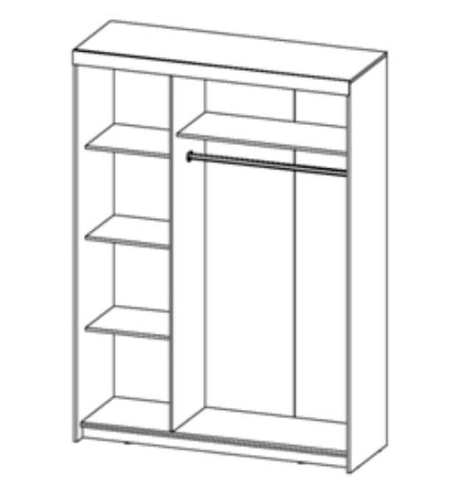 Шкафы: Шкаф Комфорт-9 в Диван Плюс