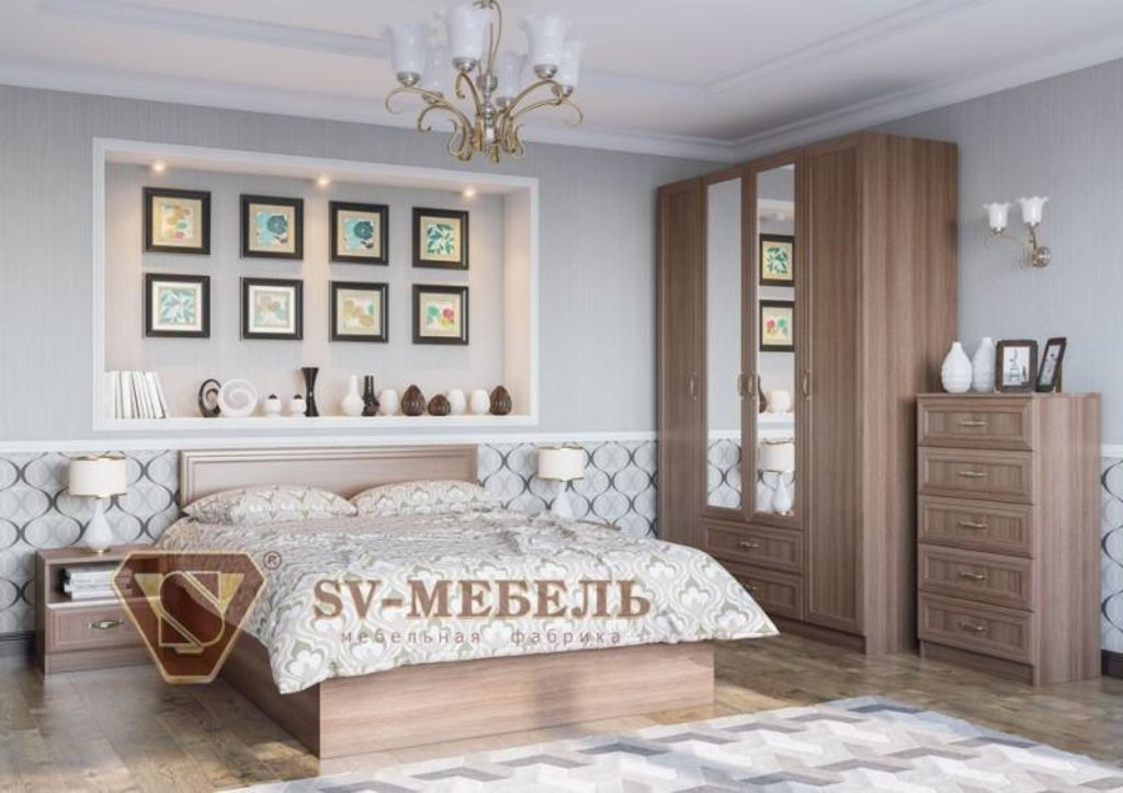 Мебель для спальни Вега: Тумба ВМ-13 Вега в Диван Плюс