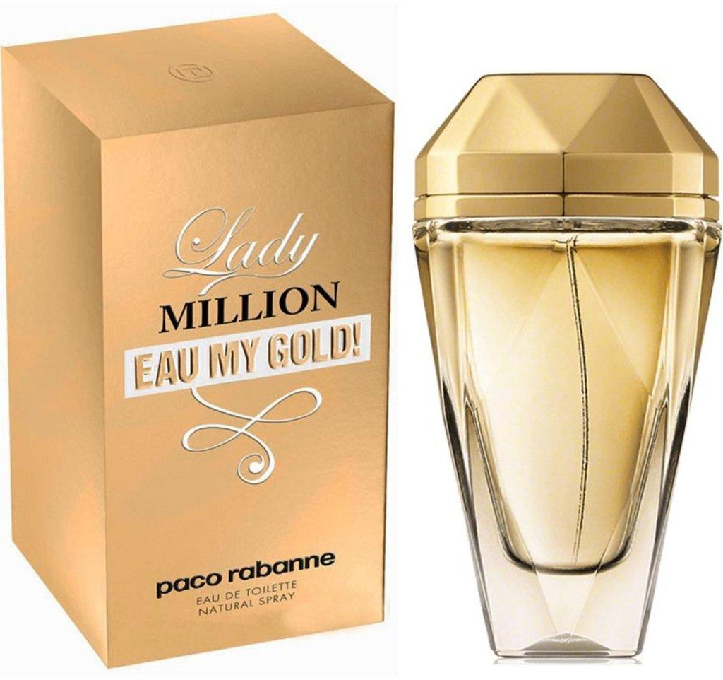 Pako Rabanne: PR Lady Million Eau My Gold Туалетная вода edt жен 80ml в Элит-парфюм