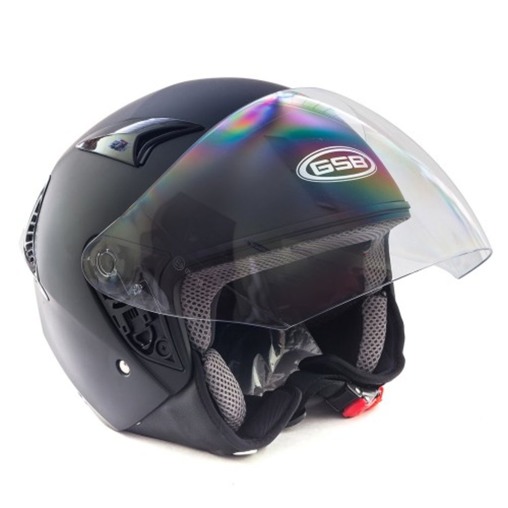 Экипировка и аксессуары: Шлем G-240 Black Matt L 00000190, 00000189 в Базис72