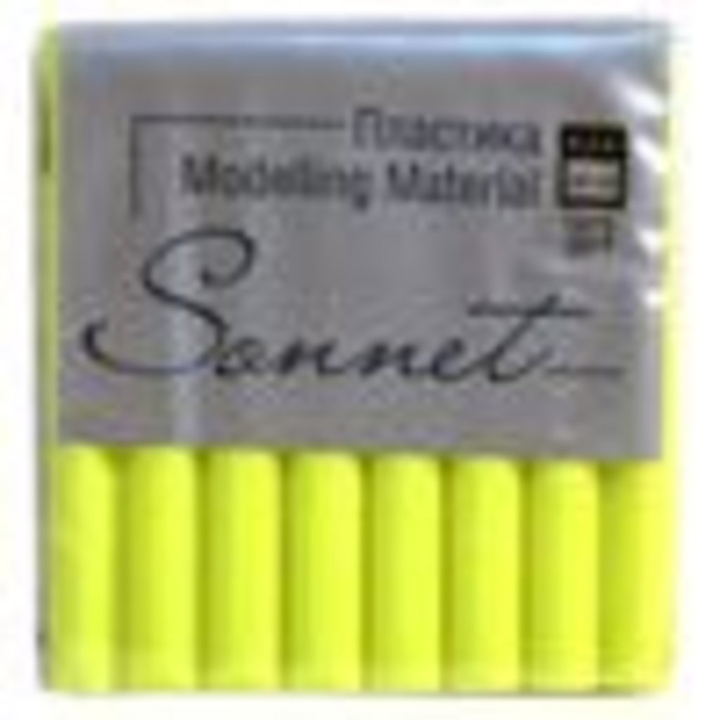 "Sonnet пластика флуоресцентная: Пластика ""Sonnet"" лимонный флуоресцентный  56гр в Шедевр, художественный салон"