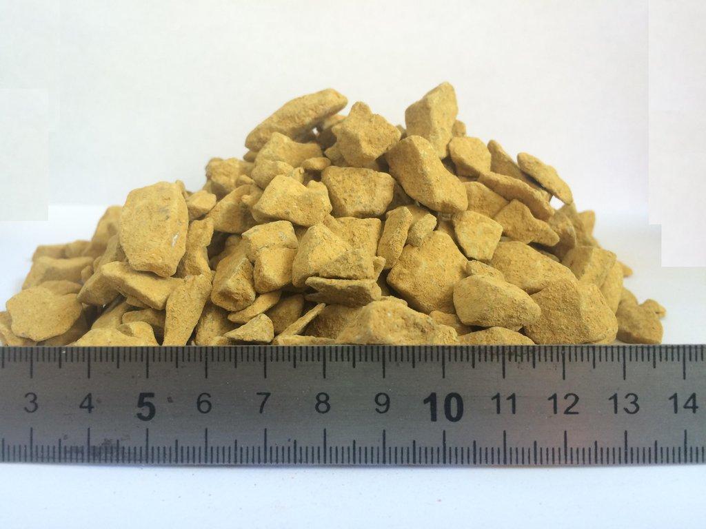 Галька, щебень: Доломитовый щебень фр.5-20мм (желтый) в 100 пудов