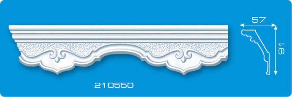 Плинтуса потолочные: Плинтус потолочный ФОРМАТ 210550 инжекционный длина 2м в Мир Потолков