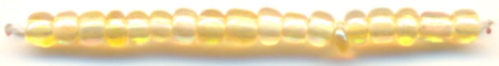 Бисер(стекло)11/0упак.500гр.Астра: Бисер(стекло)11/0,упак.500гр.,цвет 162(св.золотой/прозр.радужный) в Редиант-НК