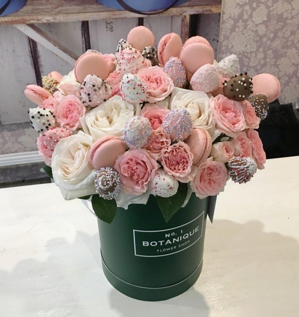 """Сладкий букет: """"Botanique Berry"""" (большой) в Botanique №1,ЭКСКЛЮЗИВНЫЕ БУКЕТЫ"""
