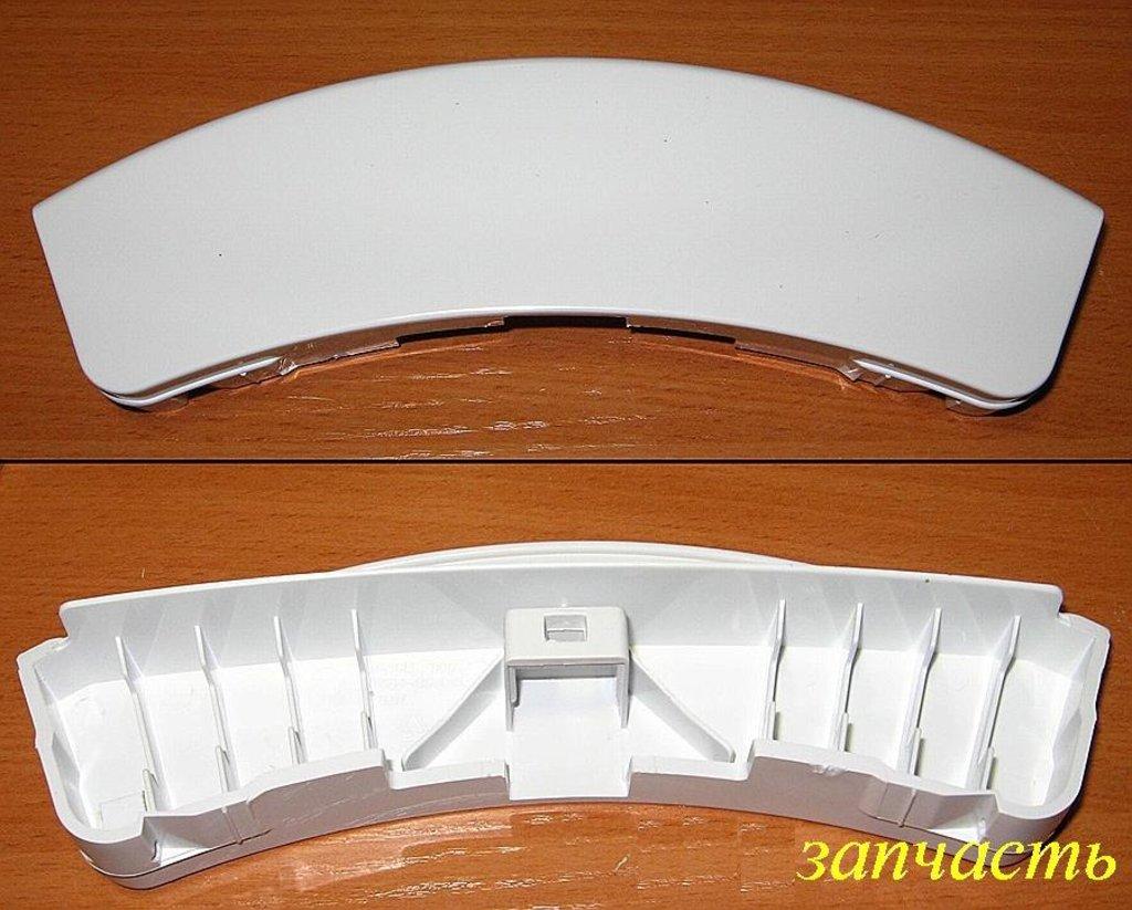 Ручки, крючки, петли, стекла и рамки люка для стиральной машины: Ручка люка для стиральной машины Samsung (Самсунг) белая, DC64-00561A в АНС ПРОЕКТ, ООО, Сервисный центр