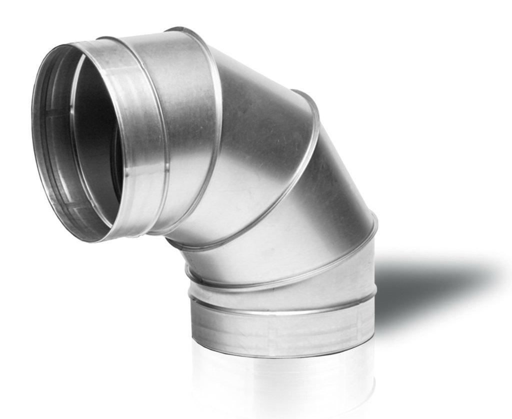 Система вентиляции: Отвод из оцинкованной стали в Теплолюкс-К, инженерная компания