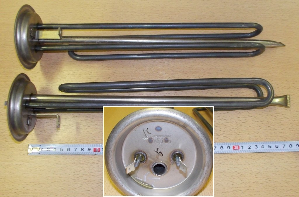 Запчасти  для водонагревателей: ТЭН водонагревателя 2500W RGS1-WH1 RF-92mm, t.3170025, t.3170120 в АНС ПРОЕКТ, ООО, Сервисный центр
