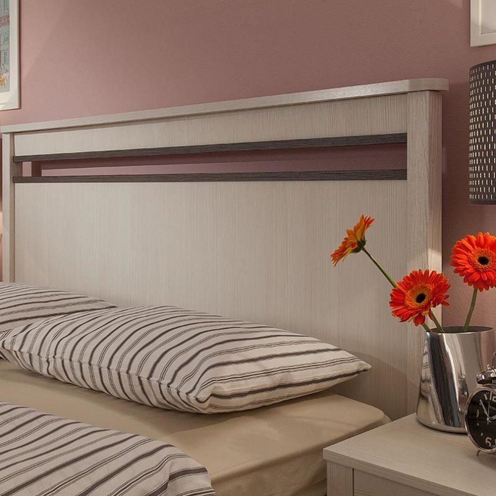 Кровати: Кровать Бриз 33 (1400, орт. осн. металл) в Стильная мебель