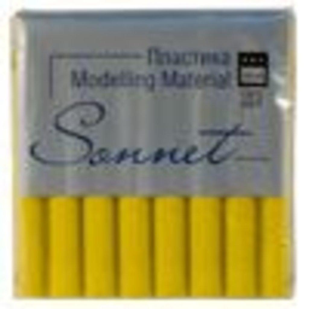 """Sonnet пластика цветная с блёстками: Пластика """"Sonnet"""" желтый с блестками 56гр в Шедевр, художественный салон"""