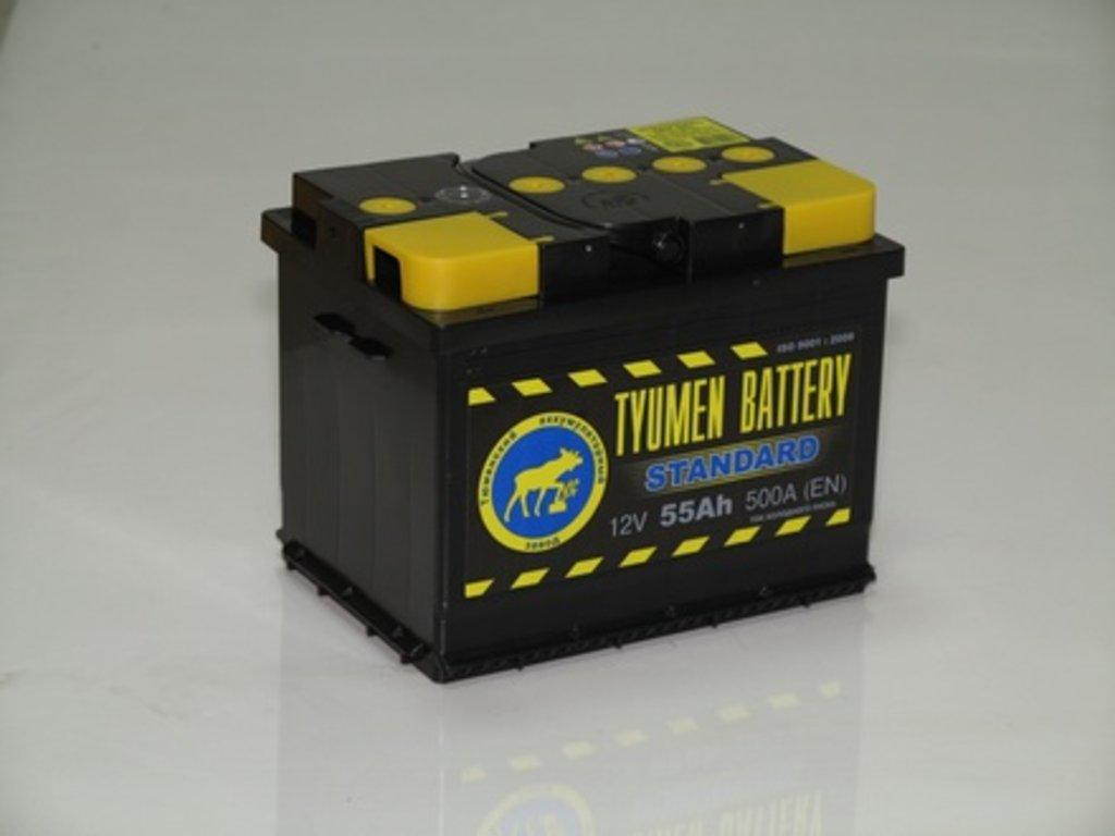 Аккумуляторы автомобильные: Тюмень 55 а/ч (зал) в Мир аккумуляторов